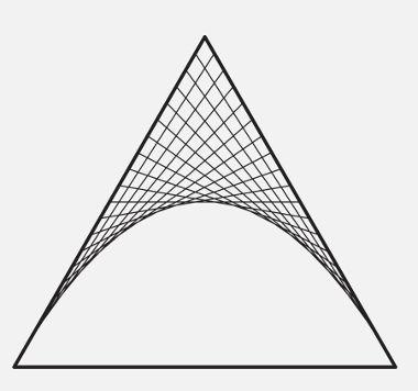 Figuras que podem ser decompostas para facilitar o cálculo de sua área.