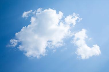 Nuvem do tipo Cumulus (Cu)
