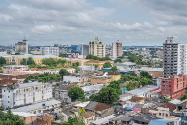 A cidade de Manaus teve um grande crescimento após a criação da Zona Franca