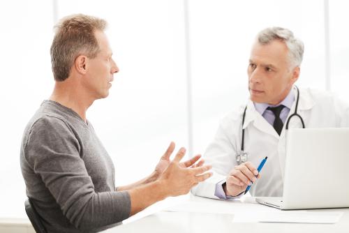 Muitos homens não procuram auxilio médico, porque têm vergonha do problema