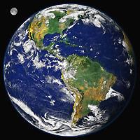 A população mundial encontra-se irregularmente distribuída no planeta.