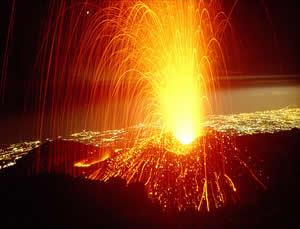 Criptônio: gás extraído de vulcões.