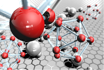 No estado sólido, os átomos dos metais se agrupam, de forma geométrica ordenada, dando origem a reticulados cristalinos