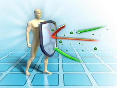 O nosso corpo conta com um eficaz sistema de defesa interno, comparável a um exército bem organizado e aparelhado