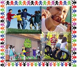 No dia da criança as atividades devem ser para agradá-las.