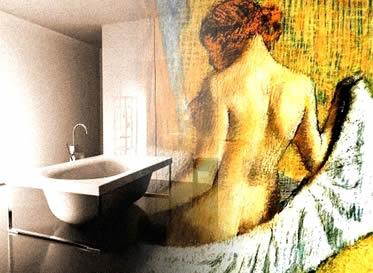 Os banhos de antigamente