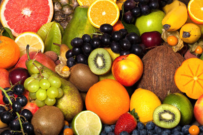 Os frutos podem ser definidos como o ovário maduro