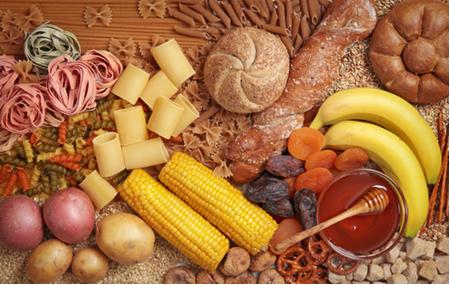 Alimentos que são fontes de carboidratos