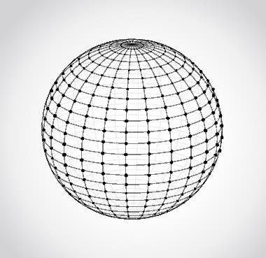 A junção de paralelos e meridianos forma uma rede de localização: as coordenadas geográficas