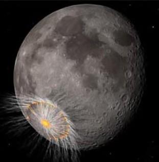 A queda de um meteoro na Terra, com a velocidade de 72.000 km/h, teria sido a principal causa da extinção dos grandes répteis (dinossauros).