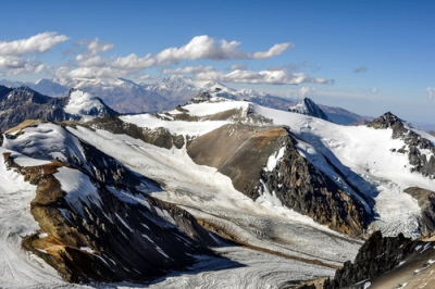 Cordilheira dos Andes, formada pelos dobramentos modernos