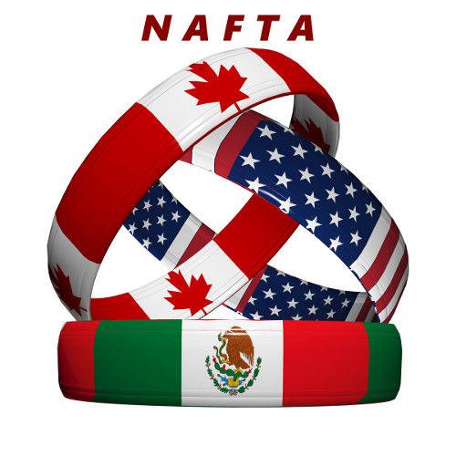 O NAFTA (North American Free Trade Agreement) é um pacto econômico entre Canadá, México e Estados Unidos