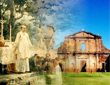 A ação dos jesuítas garantiu a expansão do catolicismo ao longo do território brasileiro.