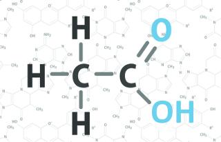 O ácido acético é um dos ácidos carboxílicos mais usados no cotidiano