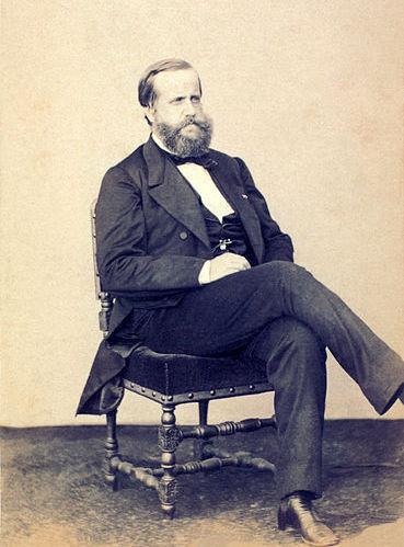 Dom Pedro II, filho de D. Pedro I e da imperatriz Leopoldina, reinou sobre o Brasil até 1889
