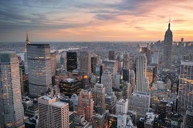 Nova York, um dos principais centros da hierarquia urbana mundial