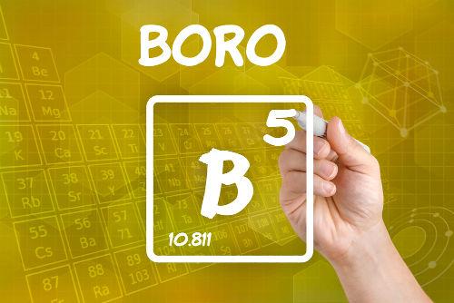 O Boro é um elemento químico que se localiza no grupo XIII da Tabela Periódica
