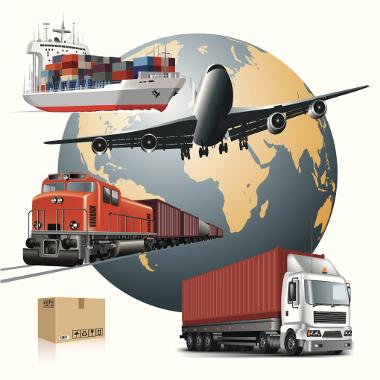 Os meios de transporte evoluíram com a Globalização e tornaram-se os seus instrumentos
