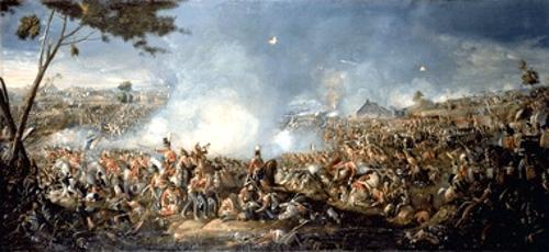 A Batalha de Waterloo, ocorrida em 1815, marcou o fim da Era Napoleônica