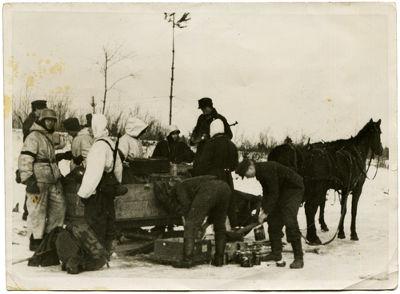 Um dos principais fatores que auxiliaram a resistência soviética à investida alemã foi o rigoroso inverno*