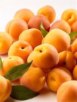 Damasco é uma fruta rica em Manganês.