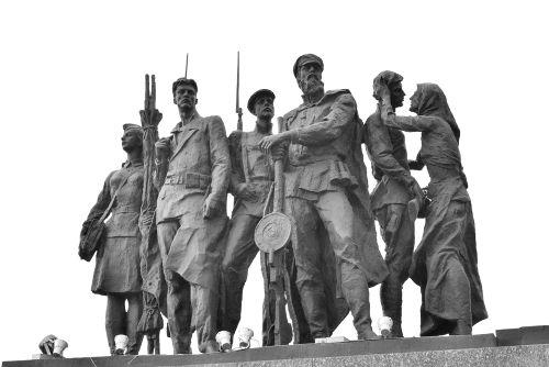 Monumento em homenagem aos defensores de Leningrado *