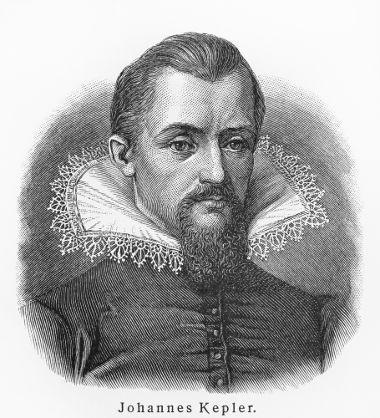 Kepler enunciou três leis que determinaram o movimento dos planetas ao redor do Sol