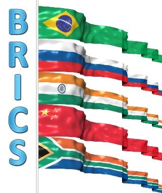 BRICS: Associação inter-regional formada por Brasil, Rússia, Índia, China e África do Sul