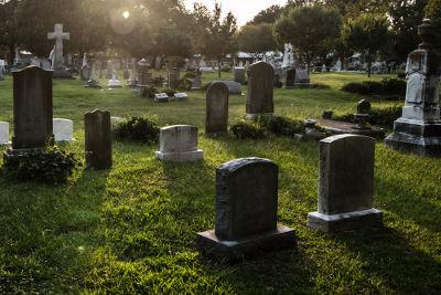 Poluição causada por cemitérios
