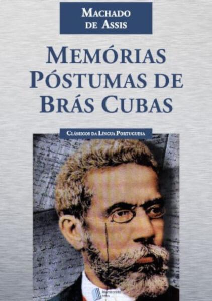 """Capa do livro """"Memórias Póstumas de Brás Cubas"""", da Editora Montecristo."""