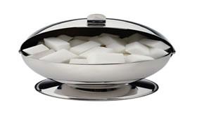 O carbono está presente na sacarose (açúcar comum).