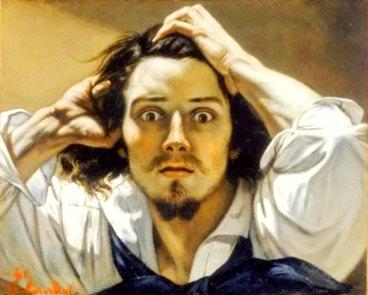 """""""Auto-retrato"""" de Coubert, a representação dos sentimentos na arte do século XIX."""