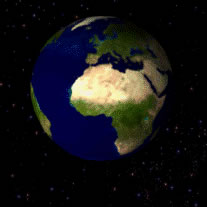 A Terra não é estática