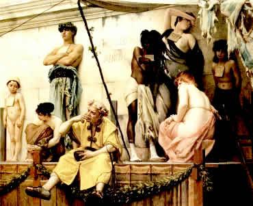 A escravidão foi organizada de diferentes formas durante a Antigüidade.