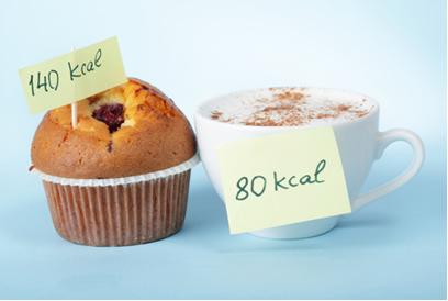 É comum se referir à quantidade de calorias dos alimentos, quando na verdade são quilocalorias