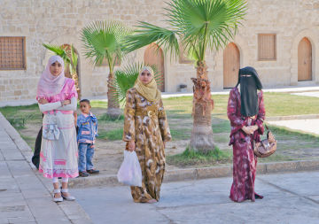 Grande parte da população da África Setentrional conduz o desenvolvimento da sua sociedade de acordo com as leis islâmicas¹