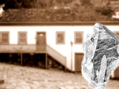 O controle e a riqueza gerada com a extração de diamantes na região de Minas Gerais.