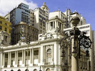 Prédio da antiga Biblioteca Real (hoje Biblioteca Nacional), no Rio de Janeiro