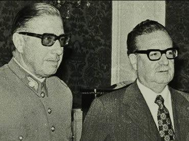 Pinochet e Allende: o antagonismo político em um país de instituições instáveis.