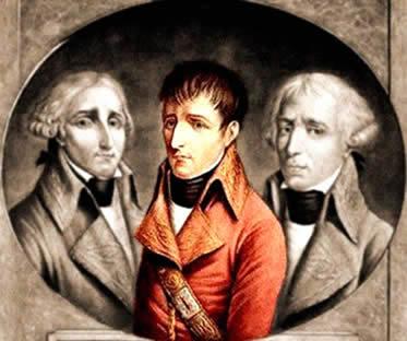 Apesar da divisão tríplice, Napoleão já concentrava poderes durante o período do Consulado.