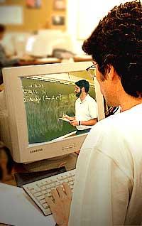 A educação semipresencial