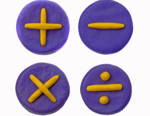 Símbolos usados nas quatro operações básicas da Matemática