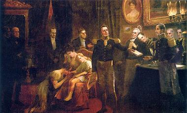 A abdicação de Dom Pedro I ocorreu em 07 de abril de 1831