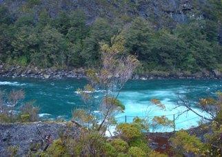 Uma das lindas paisagens do Chile.