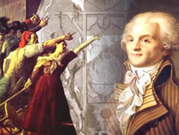 Os sans-culottes e Robespierre: figuras centrais do cenário político composto durante a Convenção Nacional.