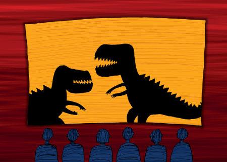 Os filmes sobre dinossauros sempre conquistam jovens e adultos