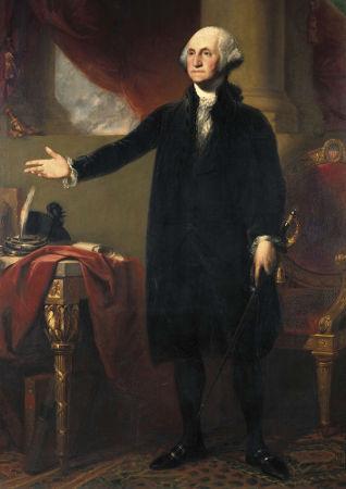 George Washington foi o primeiro presidente dos Estados Unidos
