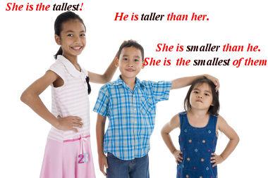 Comparative: scale compared