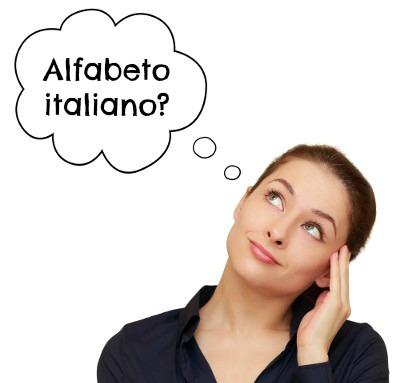 Capendo l'alfabeto e la pronuncia italiana