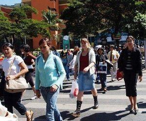 Brasil, um país populoso.